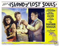 ISLAND OF LOST SOULS LOBBY SCENE CARD #2 POSTER 1932 aka THE ISLAND OF DR MOREAU