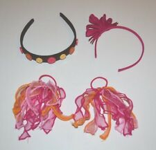 Gymboree Girls Vintage Hair Accessories Lot *Panda Academy *Fall Streamers