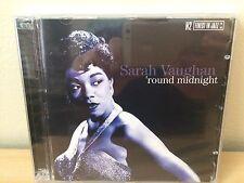 Sarah Vaughan 'Round Midnight' 2 Disc  NEW