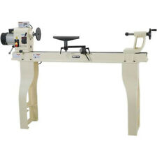 """Shop Fox W1758 16"""" X 46"""" 2Hp 10 Speed Wood Lathe with Stand and Dro w/ Iron Bed"""