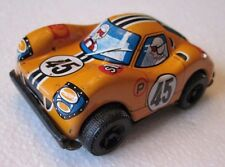 Vintage Sanko Tin Litho Toy Friction #45 Ford Race Car Made In Japan Small
