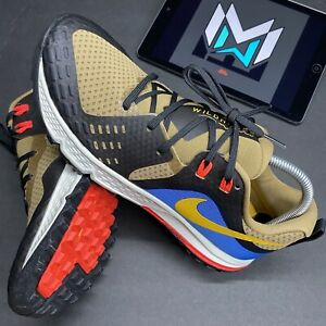 Nike Men's Air Zoom Wildhorse 5 Trail Running Shoes Brown AQ2222-200 Size 9.5