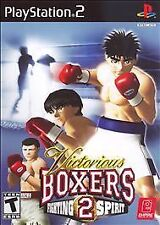Brand New Sealed Victorious Boxers 2: Fighting Spirit (Sony PlayStation 2, 2006)