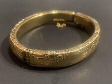 10k Gold Bangle Bracelet 22.2 Grams Tested!