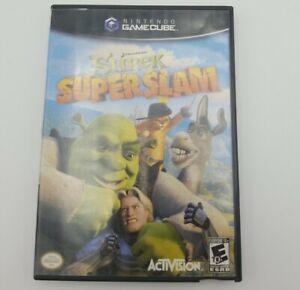 Shrek Super Slam (Nintendo GameCube, 2005) Tested Working Wihout Manual