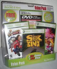 X BOX xbox360 value pack games (3 hot games 1 low price)