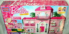 Barbie Mega Bloks 80229, Luxury Mansion, 8 Fab Rooms to build, NEW, Fast Ship