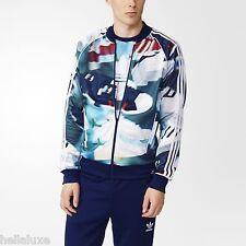 Adidas SHOE CHAOS AOP Track sweat shirt Jacket superstar top firebird~Mens sz XL