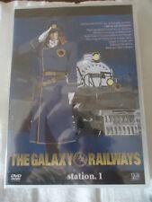 // NEUF The galaxy railways  Voyage 1 DVD 1 – Episodes 1 à 5 no ALBATOR