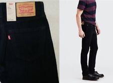 Men's Levi's 511 Slim Jeans Stretch Corduroy Jeans Black / Khaki  Price £38