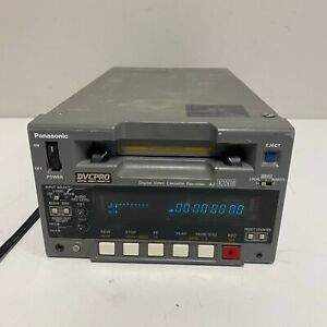 Panasonic DVCPRO AJ-D250 Digital Video Cassette Recorder Tested and Working