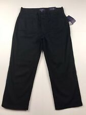 NWT NYD Not Your Daughters Jeans Black Look Full Size Smaller Size 27 Waist