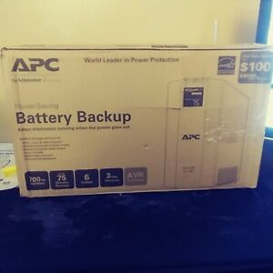 APC Power-Saving Back-UPS Pro 700 system (120V)