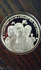 2005 Cook Islands Silver $5 Coin - Star Wars. Anakin Skywalker, Obi-Wan. HTF.