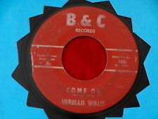 HERMAN WILLIS & GROUP~ FOREVER IN LOVE~ A  MAD MIKE MONSTER~B & C ~ DOO WOP 45