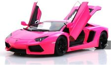 Welly Lamborghini Aventador FX LP700 1/18 Pink Barbie Diecast Car Model V532