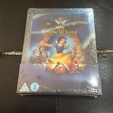 Snow White Lenticular Blu-ray Steelbook | UK Zavvi | NEW Disney | DENTED!
