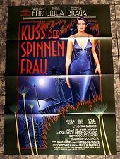 KUSS DER SPINNENFRAU *SONIA BRAGA, W. HURT- A1-Filmposter EA - Ger 1-Sheet 1986