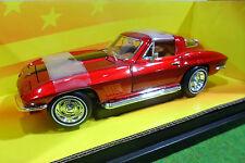 CHEVROLET CORVETTE STING RAY 427 1/18 AMERICAN MUSCLE ERTL 32513 voiture miniatu