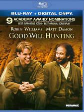 Good Will Hunting (Blu-ray Disc, 2011) W/Digital Code Movies Robin Williams