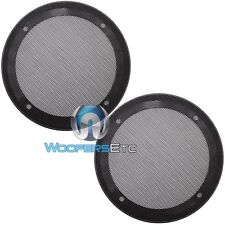 "(2) UNIVERSAL 6.5"" SPEAKER COAXIAL COMPONENT PROTECTIVE GRILLS COVERS NEW PAIR"