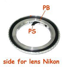 Canon EOS nuovo adattatore per ottiche Nikon Raccordo obiettivo Adapter ring new