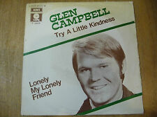 "GLEN CAMPBELL""TRY A LITTLE KINDNESS-disco 45 giri CAPITOL italy 1969"""