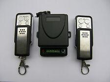 1-canale radio ricevitore + 2 telecomandi per automatizone cancelli AC/DC 12-24V