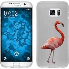 Case für Samsung Galaxy S7 Edge Silikon-Hülle Vektor Tiere M2 Cover