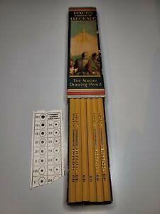 Vintage Dixon's Typhonite ElDorado 6H Pencils (1 Dozen)