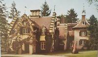 Vintage Postcard Divided Chrome Sunnyside Washington Irving Home Tarrytown NY