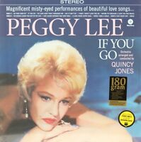 If You Go  PEGGY LEE Vinyl Record