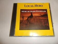 CD local Hero de l'est et Mark Knopfler (1983) - Bande Originale