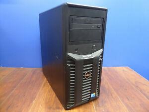 DELL POWEREDGE T110 XEON X3460 2.8GHz 8GB PERC H200A 3x 250GB SATA RAID 1 W/ H/S