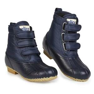 ELICO AIREDALE SHORT YARD MUCKER NAVY BOOTS - HORSE PONY EQUINE