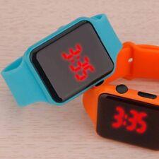 Hot Boys Fashion Sport Silicone Watches Men Women LED Watch Digital Wrist