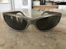 ARNETTE Catfish Vintage Sunglasses, Silver, Silver Mirror Lenses