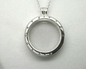 NEW PANDORA FLOATING LOCKET S925 ALE MEDIUM NECKLACE WITH CHAIN NEW 60cm 590529