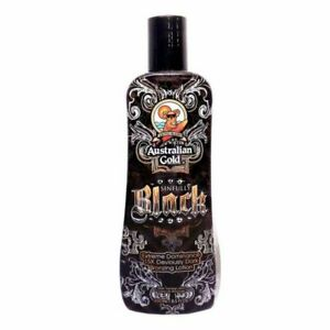 Australian Gold Sinfully Black Bronzer Tanning Bed Lotion 8.5 oz Bottle