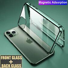 360° Magnet Doppelglas Case Handy Hülle für iPhone 11 Pro Max Schutzhülle Tasche