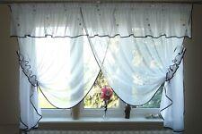 Fertiggardine aus Voile Schöne Gardine AG6 Modern Fenstergardine Lambrequin