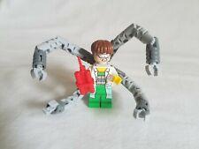 Genuine Lego 76015 Marvel Spider-Man DOC OCK Minifigure with White Lab Coat