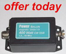 Langdrahtantenne 400 Watt PEP  Magnetic Balun UNUN  1:9 Powerbalun neu AKTION