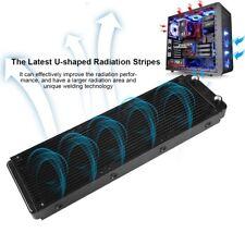 360mm Computer Water Cooling Radiator Copper 18Tube Heat Exchanger CPU Heat Sink