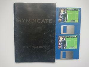 Syndicate & Grand Prix Game Bundle Commodore Amiga 500 600 1200 from Big