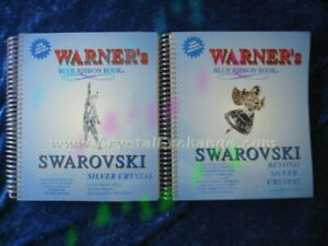 Swarovski Book Set - 1999 Warner's Blue Ribbon Books on Swarovski Crystal