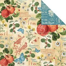 Graphic45 2 sheets, Time to Flourish Collection, SEPTEMBER