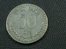 INDIA  50 Paise  1975 C  , COMBINED SHIPPING