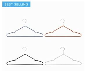 Non Slip Cloth Hangers quality Adults Kids Coat Trousers Space Savings Hangers