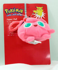 POKEMON PLUSH ZIPPER PULL JIGGLYPUFF NEW